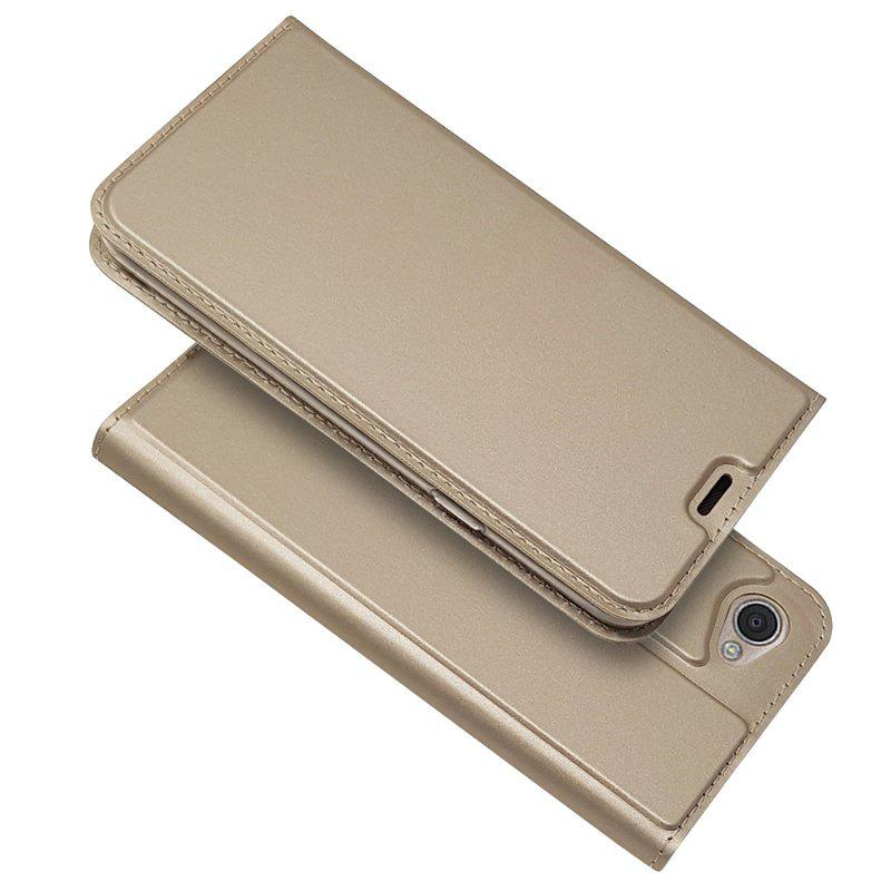 Store Ultra thin Flip Magnetic PU Leather Phone Cover for LG Q6
