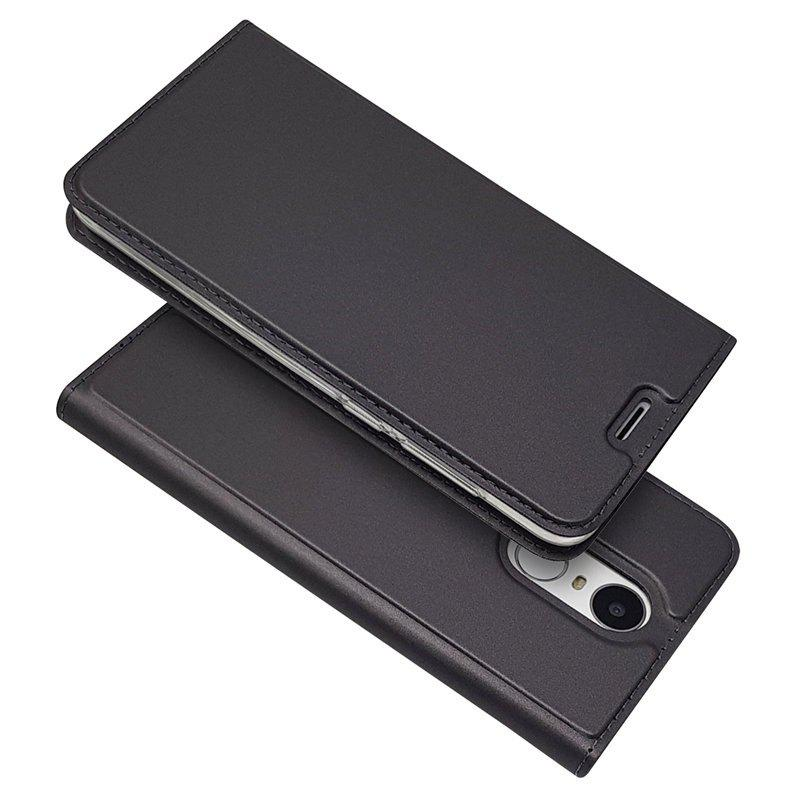 Outfit Ultra thin Flip Magnetic PU Leather Phone Cover for Huawei Honor 6X