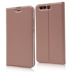 Ultra thin Flip Magnetic PU Leather Phone Cover for Huawei P10 Plus -