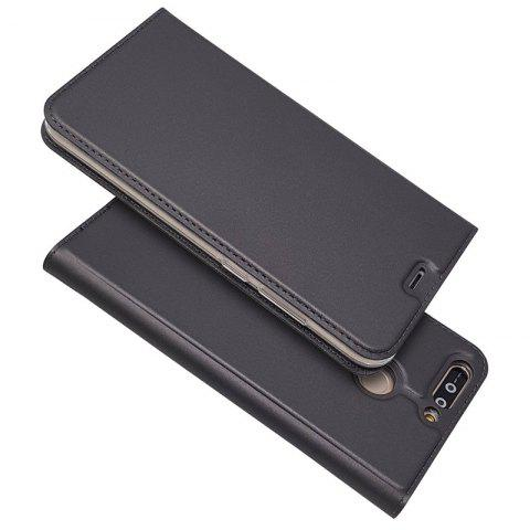 Buy Ultra thin Flip Magnetic PU Leather Phone Cover for Huawei honor V9
