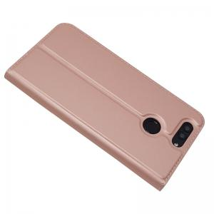Ultra thin Flip Magnetic PU Leather Phone Cover for Huawei Nova2 Plus -