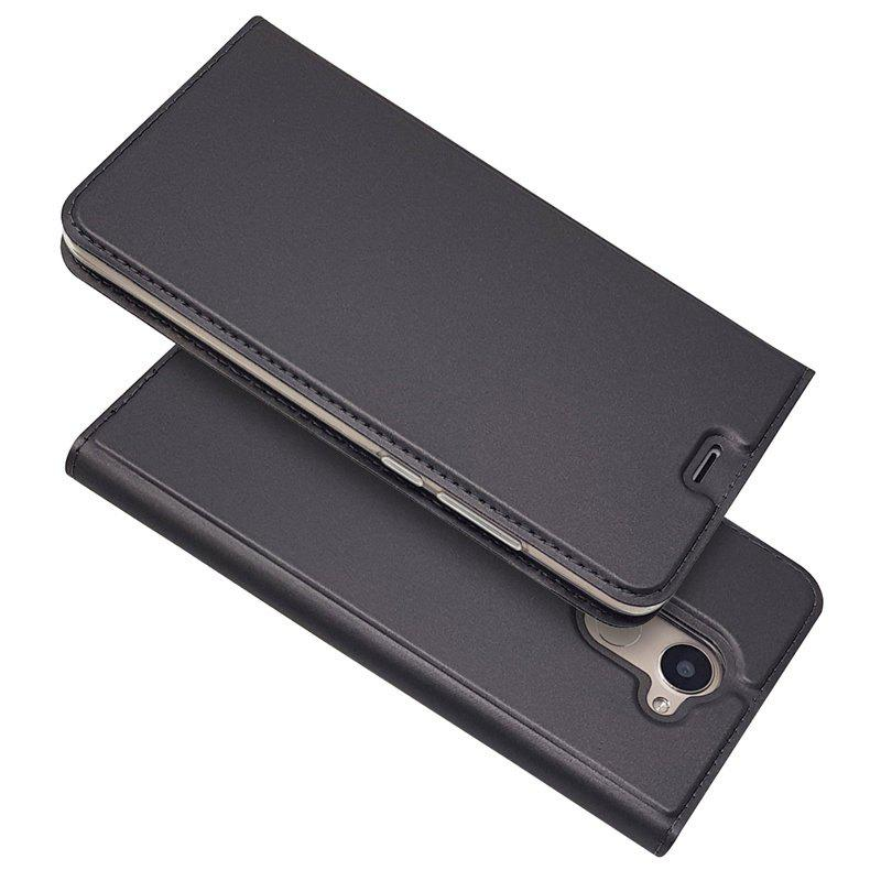 Buy Ultra thin Flip Magnetic PU Leather Phone Cover for Huawei Enjoy 7Plus