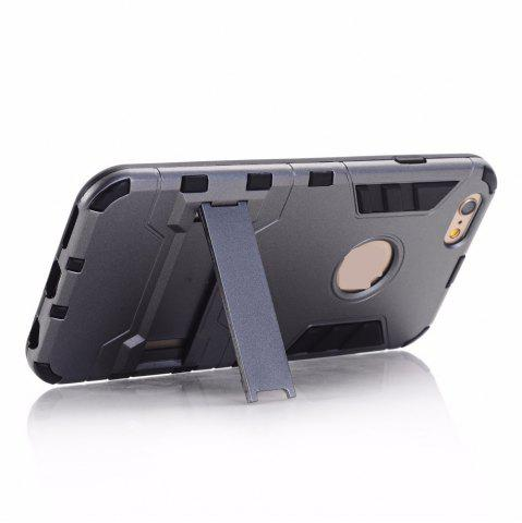 Shops Luxury Tough Shell Armor Case Dual Layer Hybrid Back Cover With Stand for iPhone 6 Plus / 6s Plus