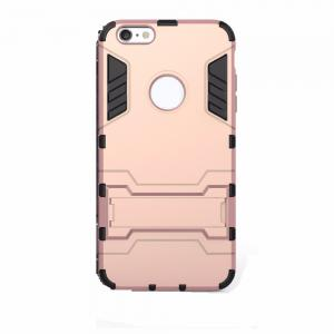 Luxury Tough Shell Armor Case Dual Layer Hybrid Back Cover With Stand for iPhone 6 / 6s -