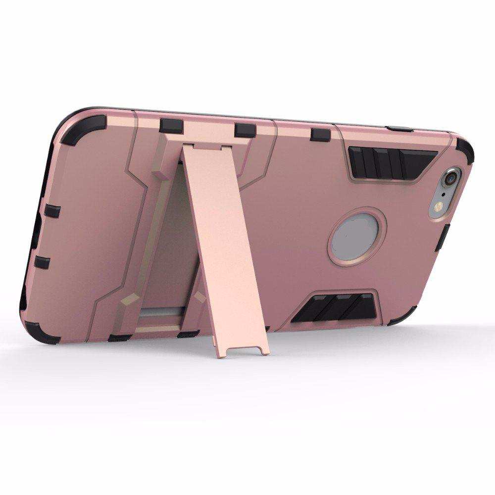 Best Luxury Tough Shell Armor Case Dual Layer Hybrid Back Cover With Stand for iPhone 6 / 6s