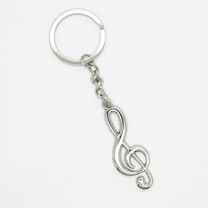Creative Musical Notation Pendant Key Chain -