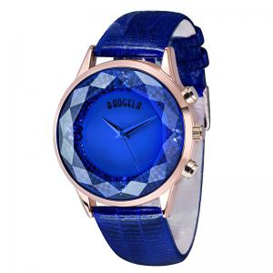 Baogela 1605 Women Fashion Quartz Genuine Leather Strap Wristwatches -