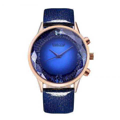 Affordable Baogela 1605 Women Fashion Quartz Genuine Leather Strap Wristwatches