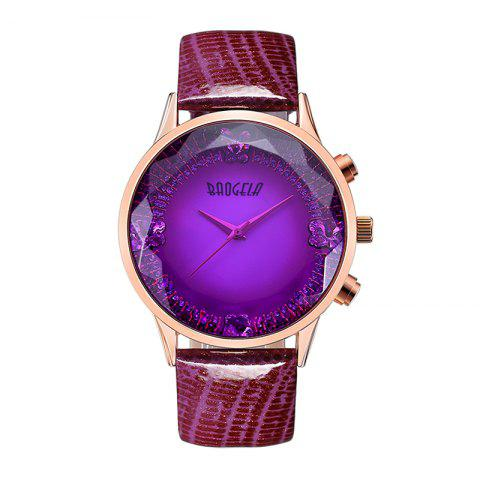 Sale Baogela 1605 Women Fashion Quartz Genuine Leather Strap Wristwatches