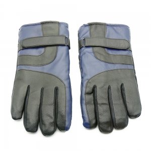 Outdoor Unisex Cold-proof Thermal Warm Touch Screen Velvet Leather Gloves -