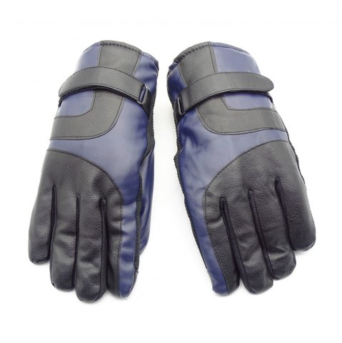 Discount Outdoor Unisex Cold-proof Thermal Warm Touch Screen Velvet Leather Gloves