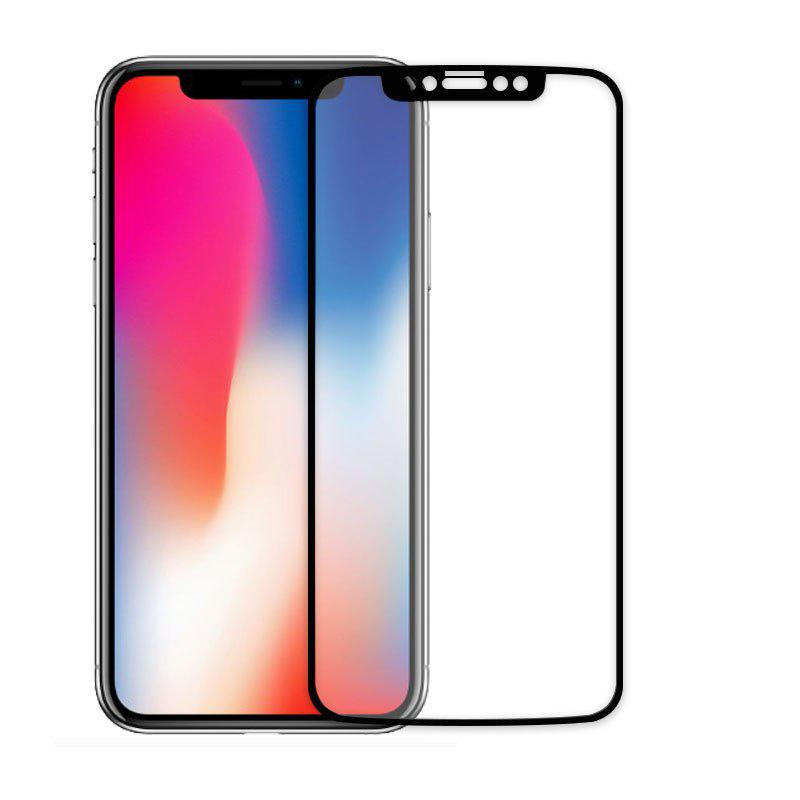 Affordable 2.5D Full Cover Colorful Tempered Glass Screen Protector Film For iPhone X