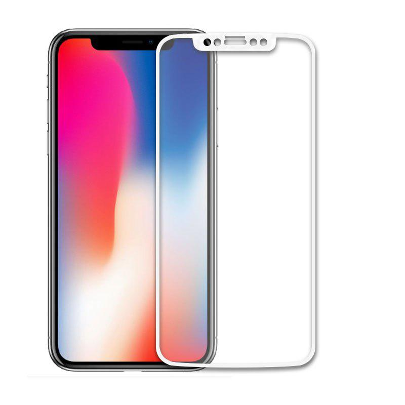 New 2.5D Full Cover Colorful Tempered Glass Screen Protector Film For iPhone X
