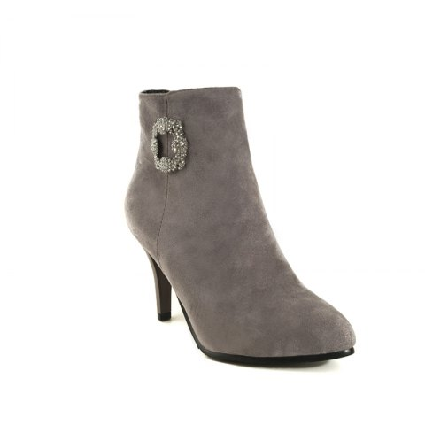Store Sharp Pointed with High-Heeled Sexy Diamond Bare Boots