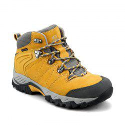 Clorts Hiking Boots Cow Suede Waterproof Outdoor Trail Sport Shoes Women Trekking Shoes -