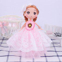 18CM Fashion Princess Vinyl Wedding Dress Doll Accessories -