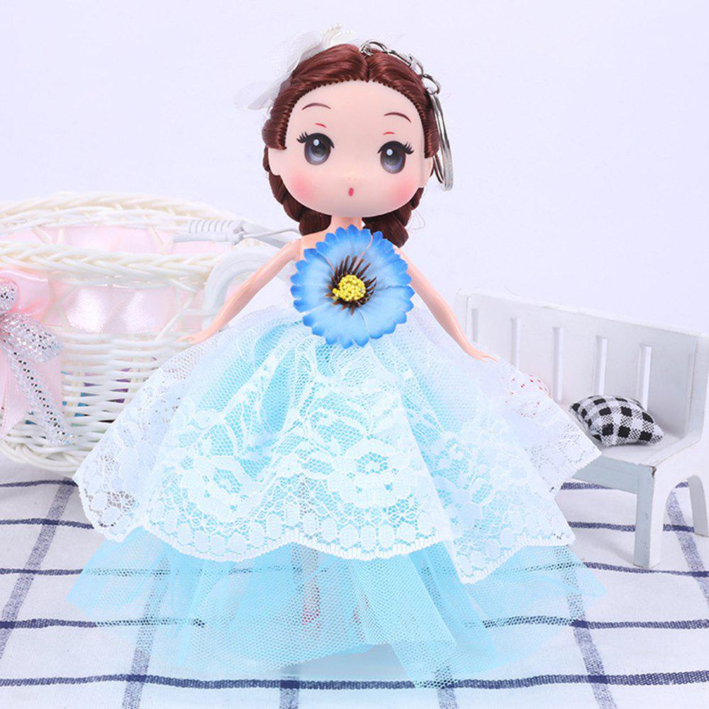 Chic 18CM Fashion Princess Vinyl Wedding Dress Doll Accessories