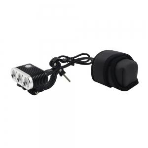 Wiz - XP3 Cree XM - L2 U3 Neutral White Led Bike Headlight 3 Flash Modes (Batteries Not Included) -