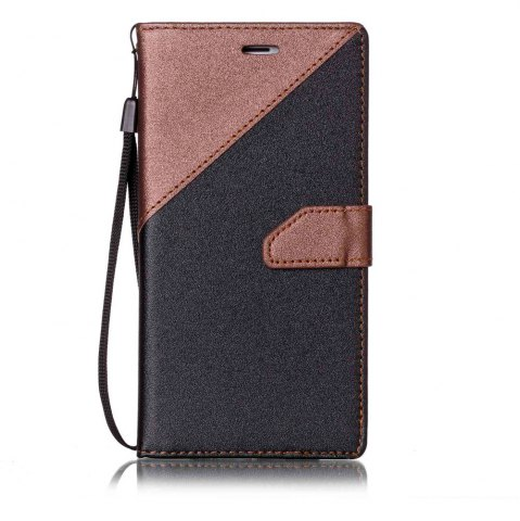 Sale Color Stitching Leather Case for iPhone 8 Plus