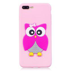 3D Owl Phone Protection Case for iPhone 8 Plus -