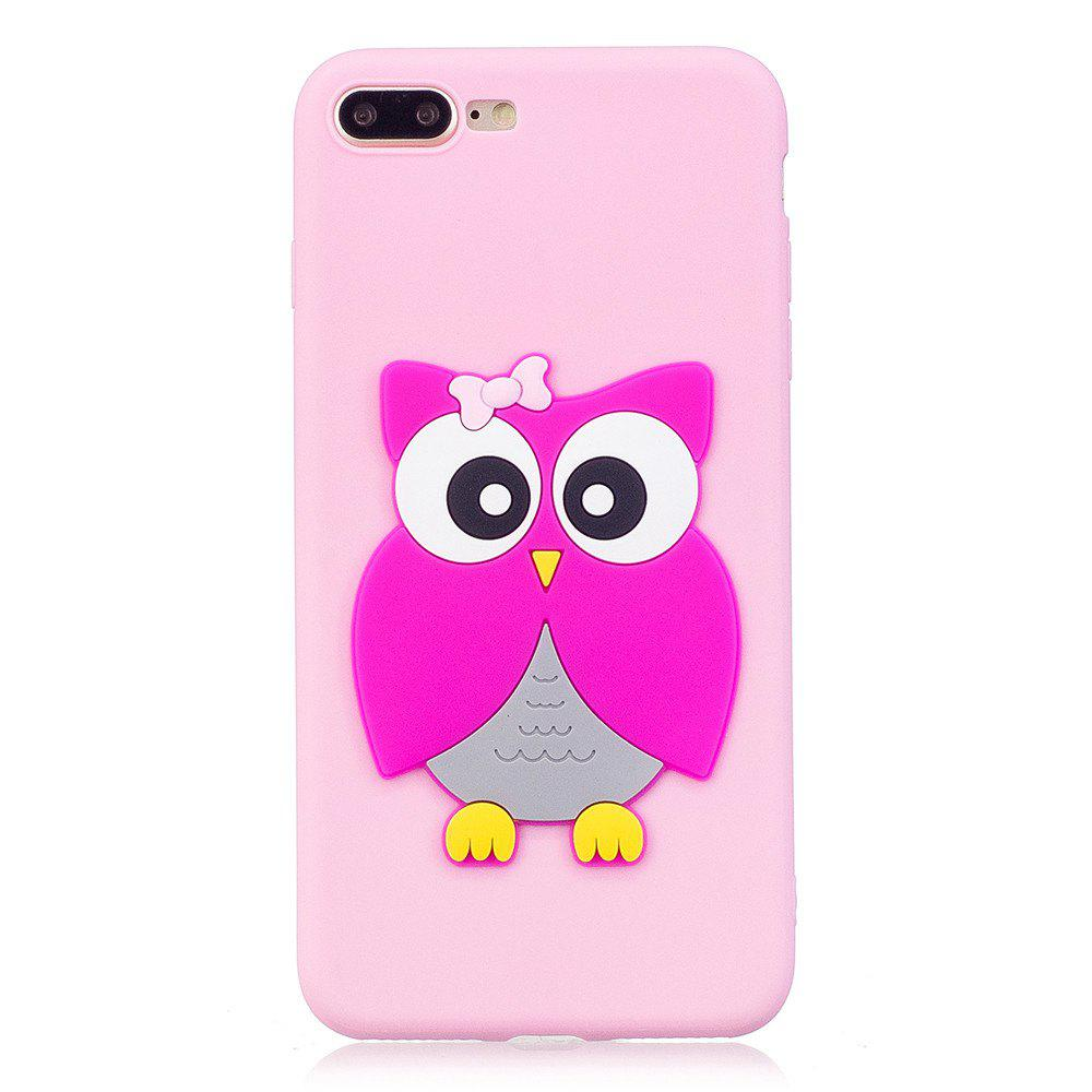 Hot 3D Owl Phone Protection Case for iPhone 8 Plus