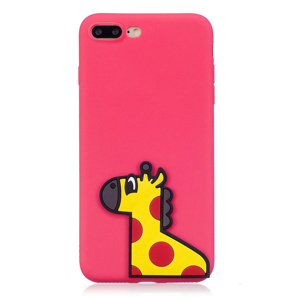 Latest 3D Horse Pattern Phone Protection Case for iPhone 8 Plus