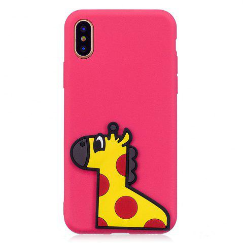 Affordable 3D Horse Pattern Phone Protection Case for iPhone X