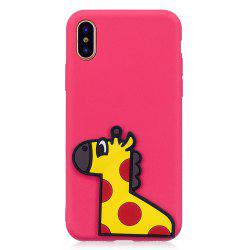 3D Horse Pattern Phone Protection Case for iPhone X -