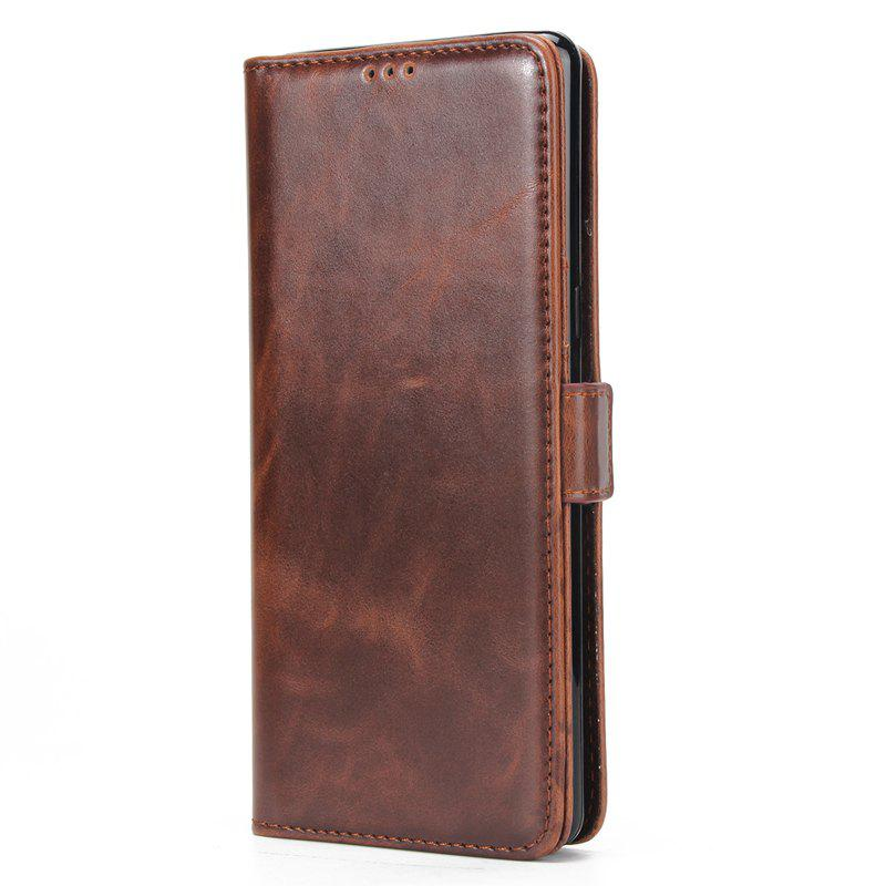 Shop High Grade Crazy Horse Double Fold Leather Case for Samsung Galaxy Note 8