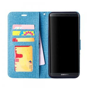 Cotton Pattern Leather Case for Samsung Galaxy S8 Plus -