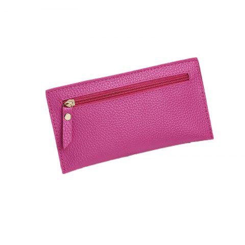 Les femmes occasionnels Lychee Pattern Colorful Purse