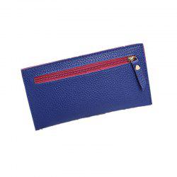 Women Casual Lychee Pattern Colourful Purse -