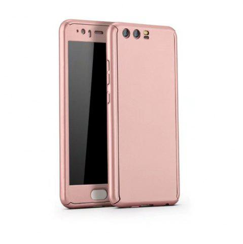Trendy Full PC Back Cover Funda Complete All Around with Tempered Glass Case for Hawei P10 Plus