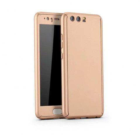 Unique Full PC Back Cover Funda Complete All Around with Tempered Glass Case for Hawei P10 Plus
