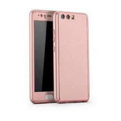 Full PC Back Cover Funda Complete All Around with Tempered Glass Case for Hawei P10 Plus -