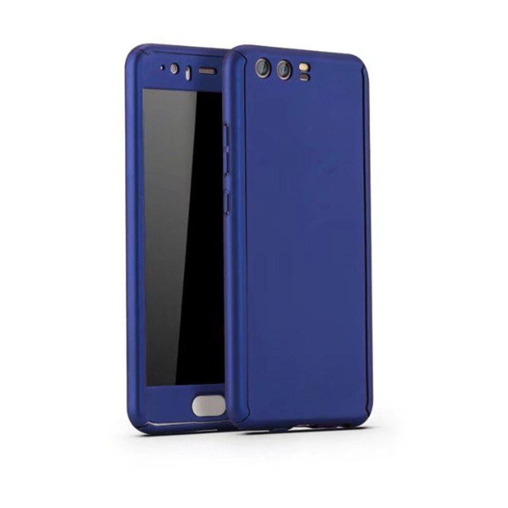 Buy Full PC Back Cover Funda Complete All Around with Tempered Glass Case for Hawei P10 Plus