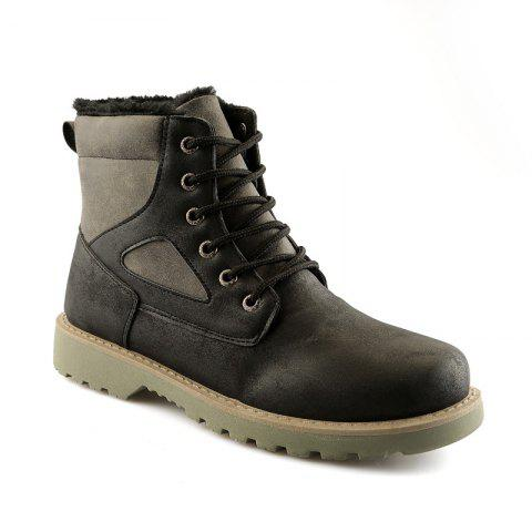 Affordable A07 Snowshoe Winter Cotton Boots with Warm Cotton Shoes