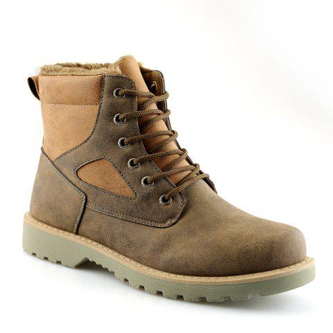 Shop A07 Snowshoe Winter Cotton Boots with Warm Cotton Shoes