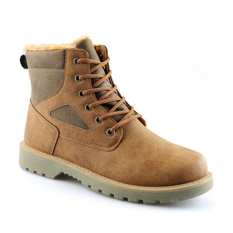 Store A07 Snowshoe Winter Cotton Boots with Warm Cotton Shoes