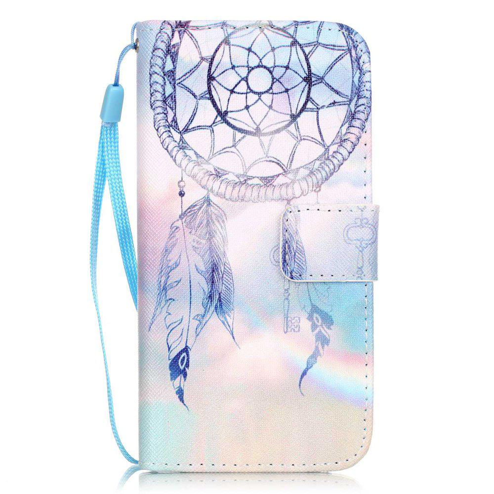 Outfit Dream Wind Chimes Pattern PU Leather Flip Wallet Case for iPhone 7 / 8