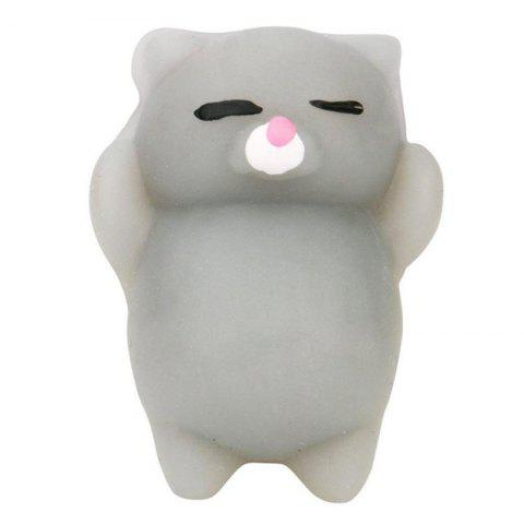 Store Cute Cat Style Squishy Toy for Pressure Reducing