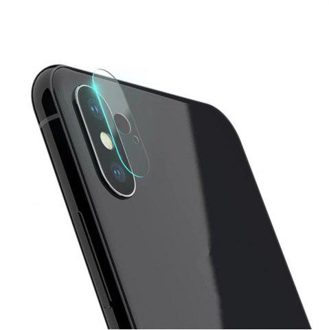 Latest Back Rear Camera Lens Screen Tempered Glass Protector Cover Film for iPhone X