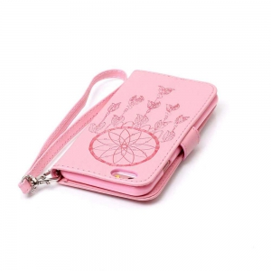 Double Embossed Dreamcatcher PU TPU Phone Case for iPhone 6  / 6S -