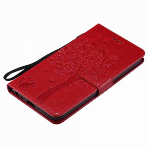 Double Embossed Sun Flower PU TPU Phone Case for  LG  Stylus3 Plus / Stylus3 / Style  Plus -