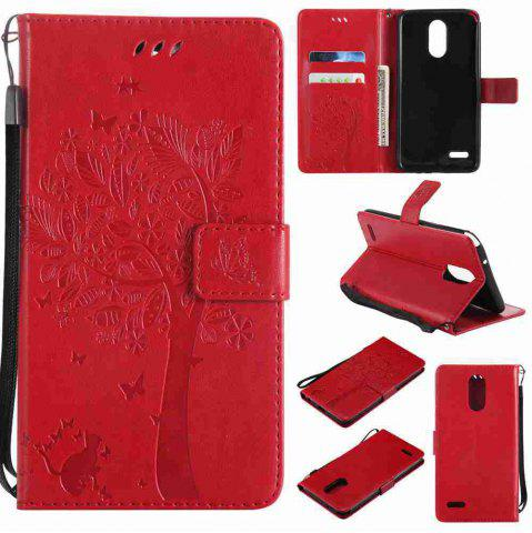 Shops Double Embossed Sun Flower PU TPU Phone Case for  LG  Stylus3 Plus / Stylus3 / Style  Plus