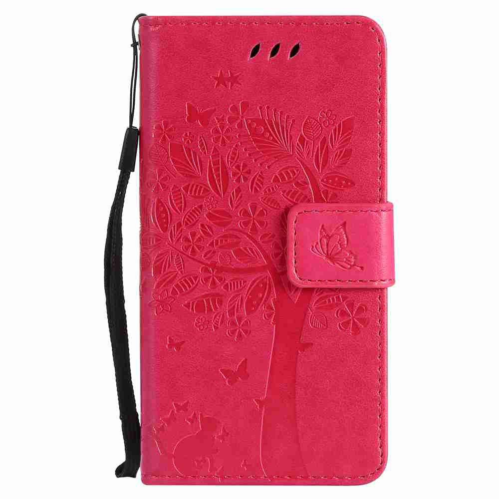 Best Double Embossed Sun Flower PU TPU Phone Case for  Samsung Galaxy  A3 2017