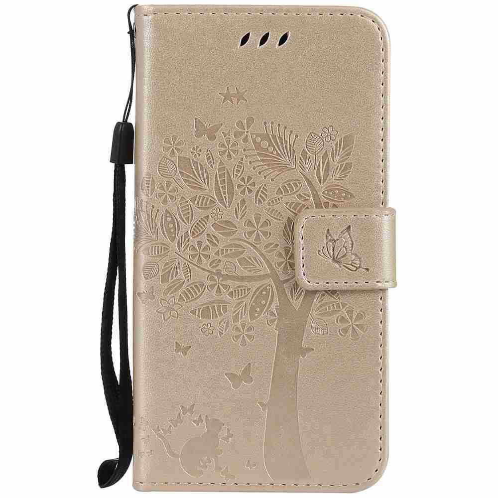 Buy Double Embossed Sun Flower PU TPU Phone Case for  Samsung Galaxy  A5 2017