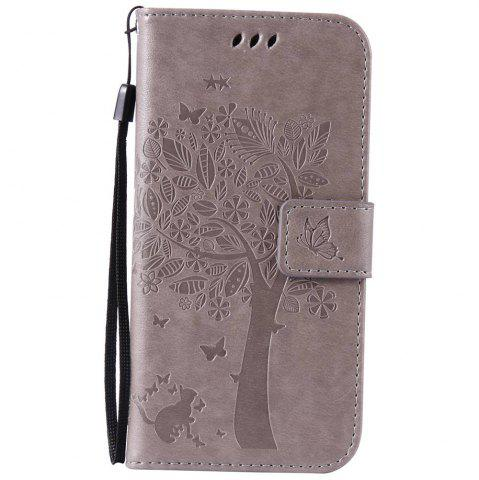 Shops Double Embossed Sun Flower PU TPU Phone Case for  Samsung Galaxy S7