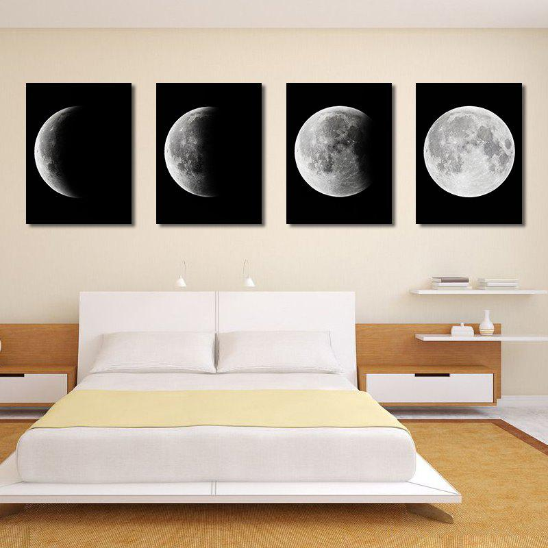 Cheap Modern Canvas Print for Home Wall Decoration 4pcs