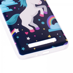 Pegasus Pattern Soft TPU Clear Case for Xiaomi Redmi 4A -
